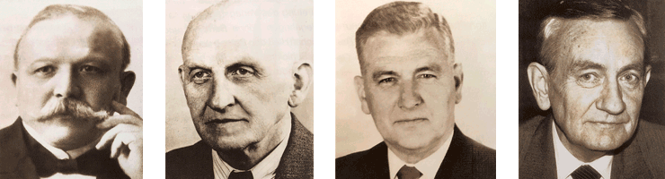 Männer der Familie Borgardt