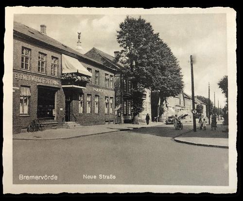 Gebäude der Bremervörder Zeitung in der Neuen Straße