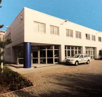 Firmengebäude von Borgardt Druck