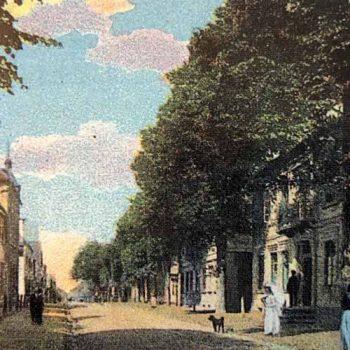 Historische Straße in Bremervörde