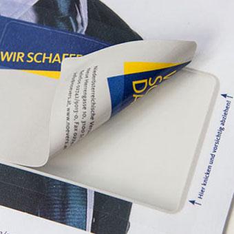InKa Integrierte Dünnplastikkarte Beispiel 1