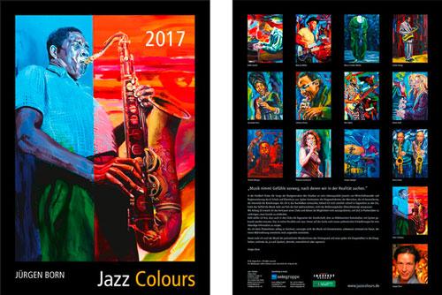 Kalender Jazz Colours 2017