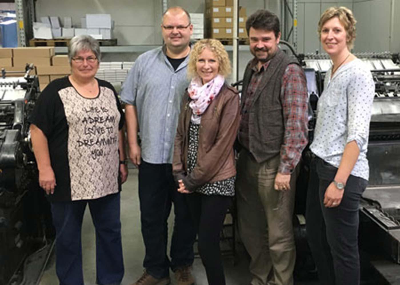 Mitarbeiter der TUI besuchen die Ostegruppe